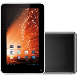 "Tablet Multilaser PC7 M7-S 4GB Wi-fi Tela 7"" Android 4.1 Processador 1.2 GHz - Preto"
