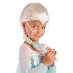 Peruca Feminina Elsa Frozen Carnaval Halloween