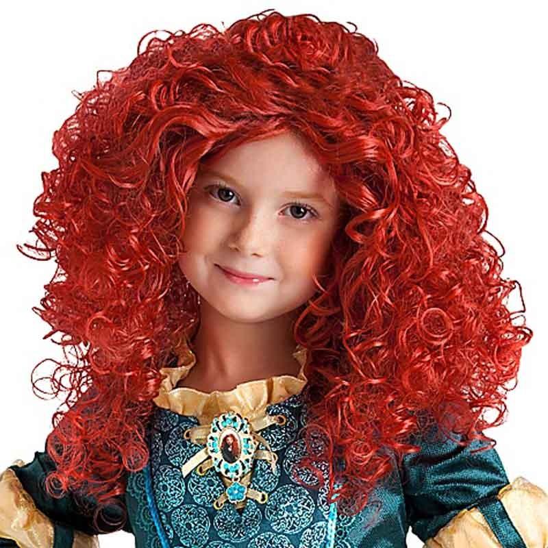 Resultado de imagem para peruca colorida infantil