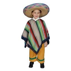 Fantasia Infantil Mexicano Festa Halloween Carnaval