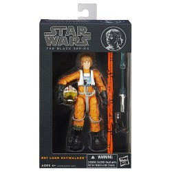 Boneco Star Wars Black Series Personagem Luke Skywalker