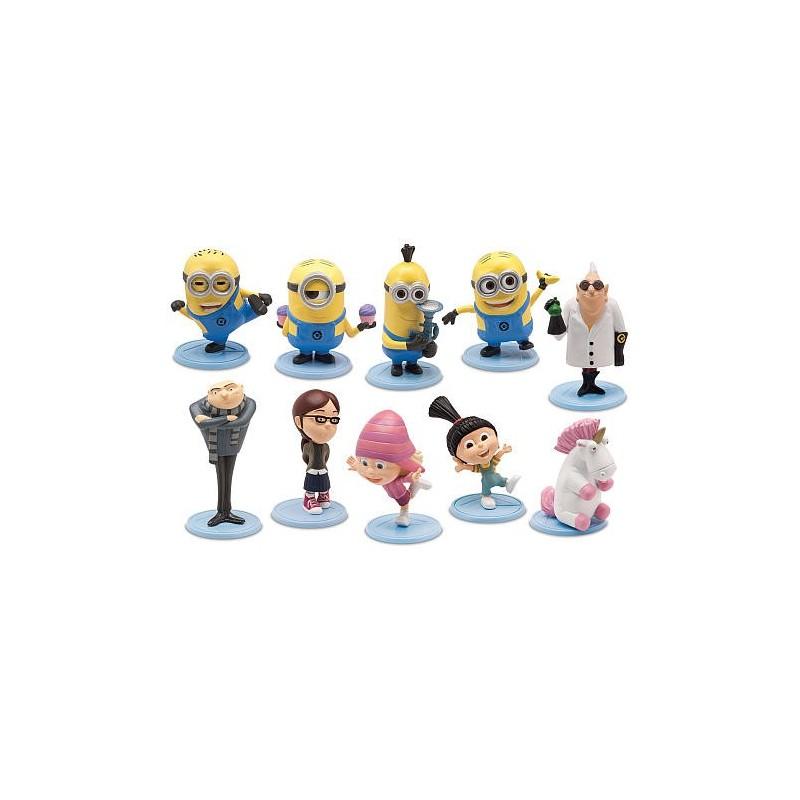 Bonecos Filme Meu Malvado Favorito 10 personagens