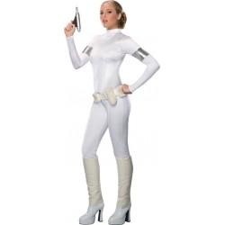 Fantasia Feminina Amidala Padme Star Wars Halloween Carnaval