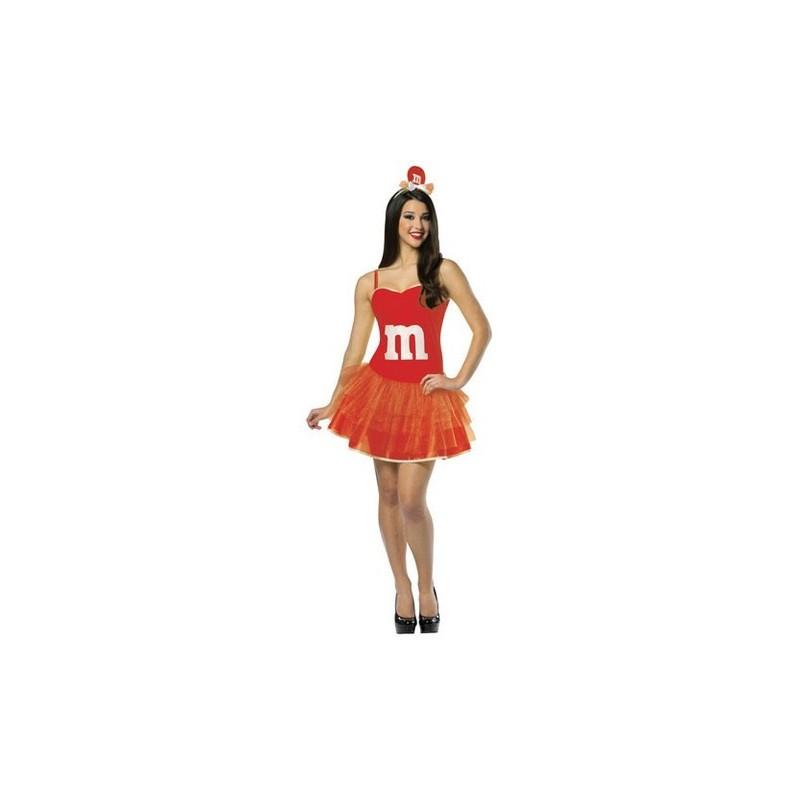 84de4a7fb Fantasia Feminina Vestido Mm Vermelho Chocolate Festa Halloween