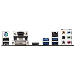 Placa-Mãe Asus Z97M-PLUS socket 1150 4º Geração i3/i5/i7 HDMI SATA 6Gb / s USB 3.0 Micro ATX