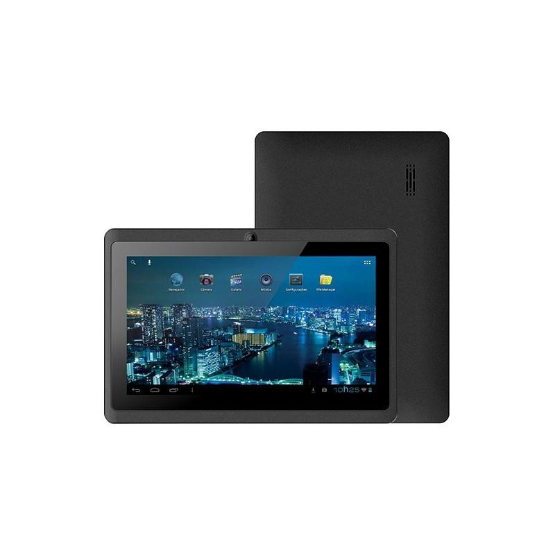 "Tablet Phaser PC-713 Kinno II 4GB Wi-fi Tela 7"" Android 4.0 Processador A13 1.0 GHz - Preto"