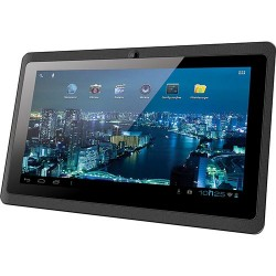 "Tablet Phaser PC-713 Kinno II 4GB Wi-fi Tela 7"" Android 4.0 Processador A13 1.0 GHz - Preto"