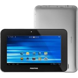 "Tablet Positivo YPY L700+ 8GB Wi-fi Tela 7"" Android 4.1 Processador Cortex A9 1.0 GHz - Prata"