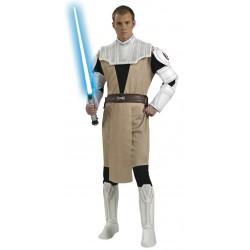 Fantasia Masculina Obi-Wan Kenobi Star Wars Festa Halloween Carnaval