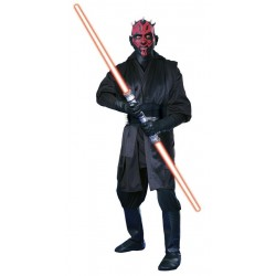 Fantasia Masculina Darth Maul Star Wars Festa Halloween Cosplay