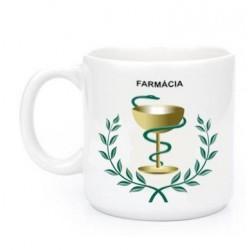 Caneca de Porcelana Presente Profissões Farmácia Farmaceutica