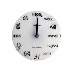 Relógio de Parede Profissões Formandos Exatas Engenharia Branco
