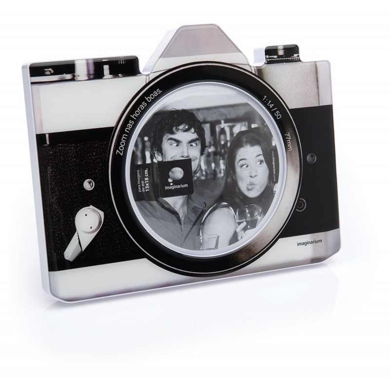 Porta Retrato Câmera Fotográfica Antiga Presente