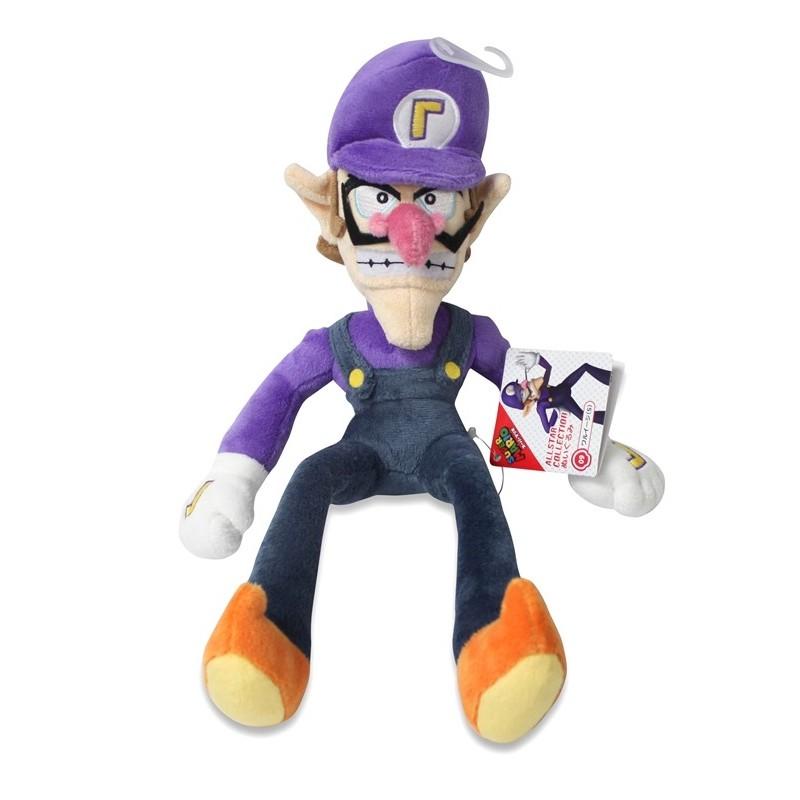 Pelúcia Waluigi Super Mario Nintendo