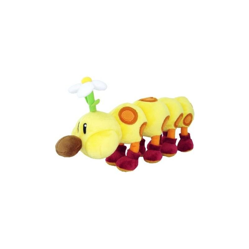 Boneco de Pelúcia Centopéia Super Mario Nintendo