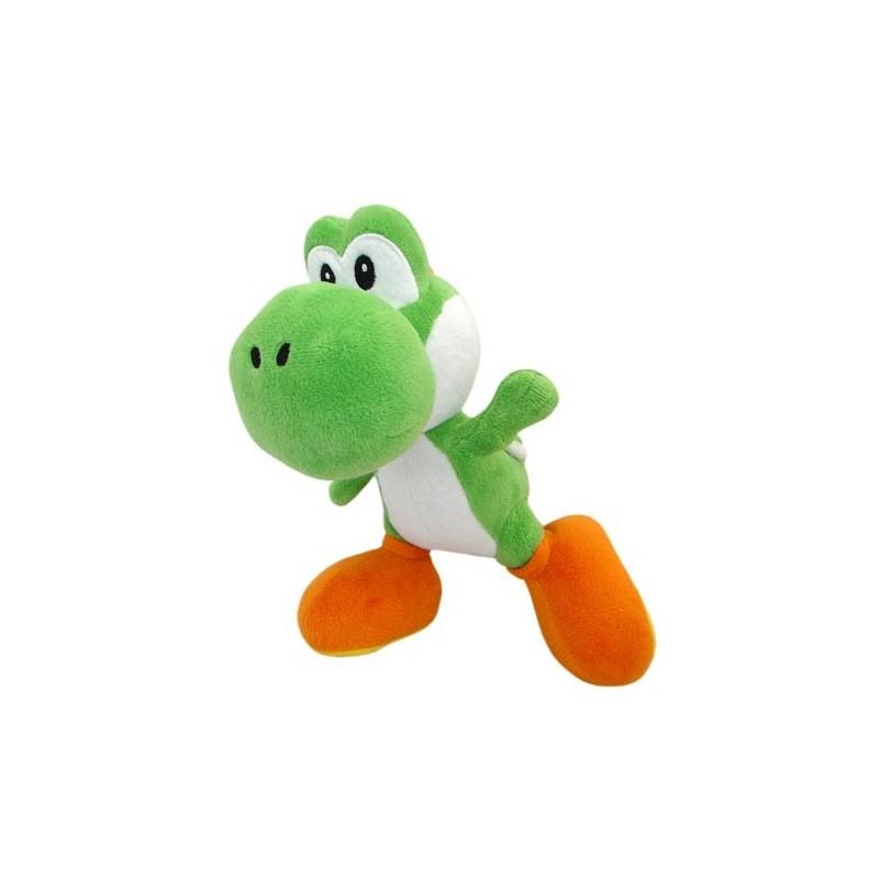 Boneco de Pelúcia Yoshi Verde Clássico Super Mario Nintendo