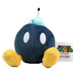 Boneco de Pelúcia Bob Omb Super Mario Nintendo