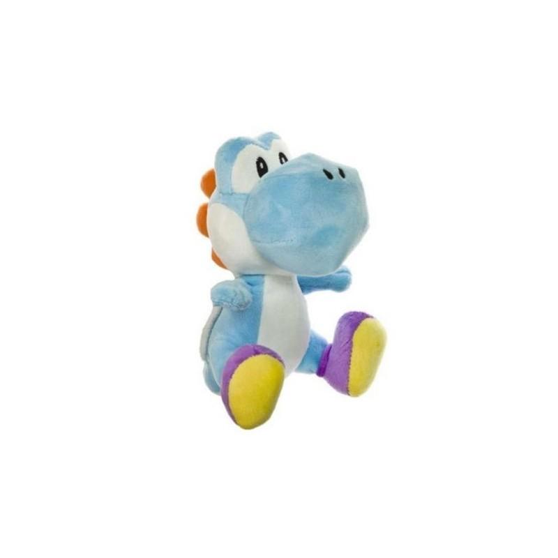 Boneco de Pelúcia Yoshi Azul Super Mario Nintendo