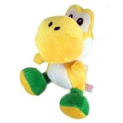 Boneco de Pelúcia Yoshi Amarelo Super Mario Nintendo