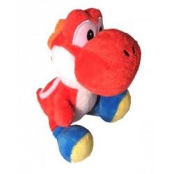 Boneco de Pelúcia Yoshi Vermelho Super Mario Nintendo