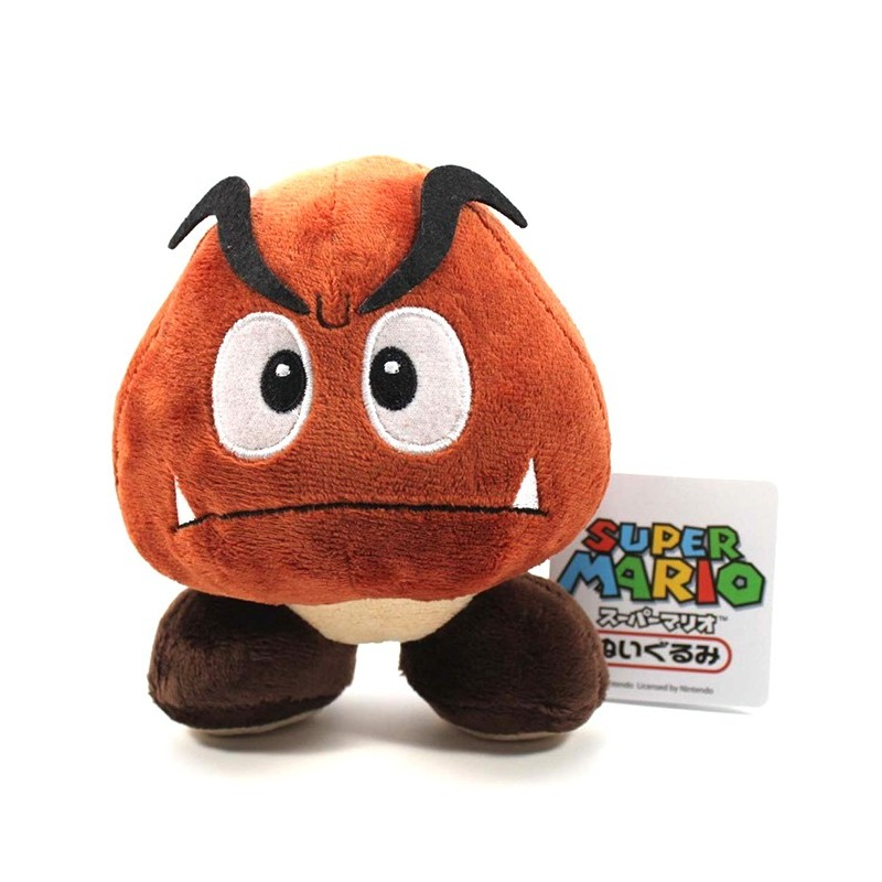 Boneco de Pelúcia Super Mario Nintendo Goomba