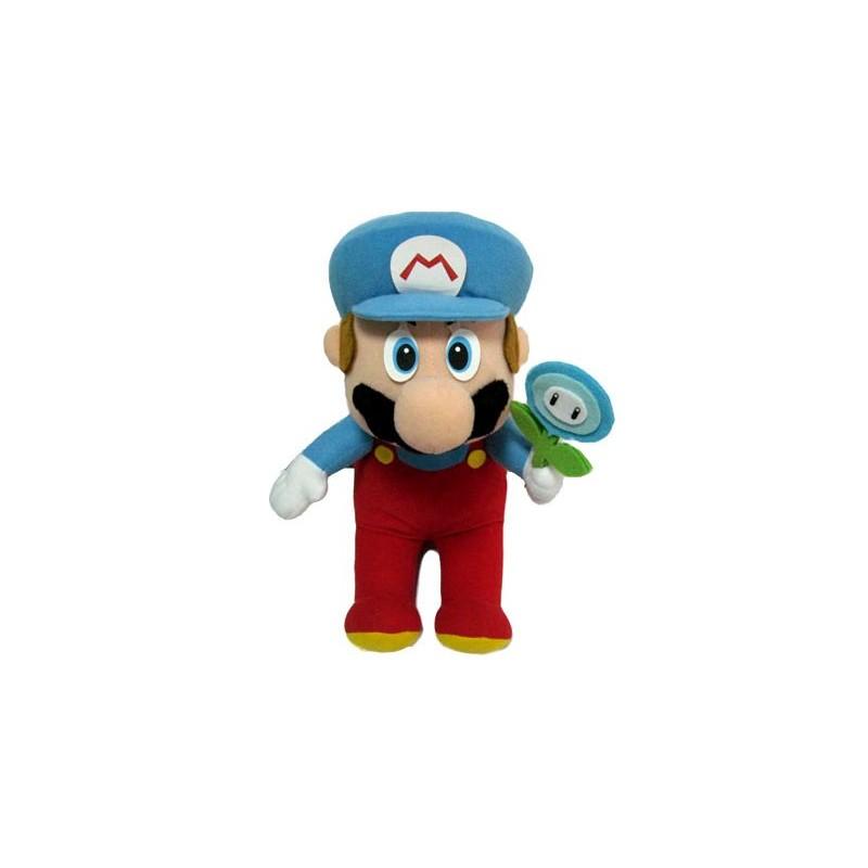 Boneco de Pelúcia Super Mario Ice Gelo Nintendo Feltro