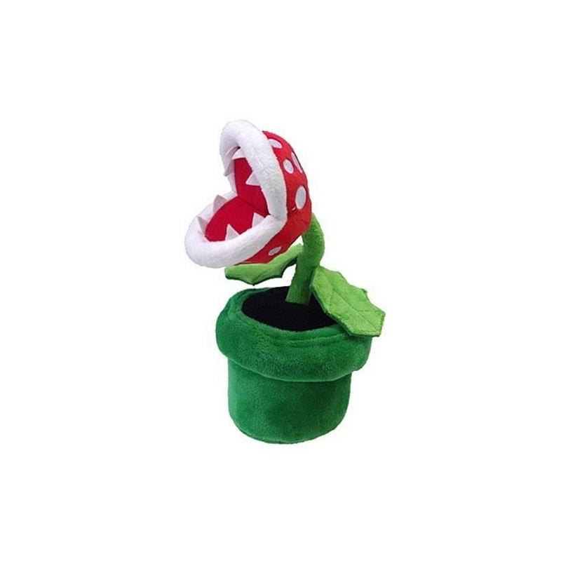 Boneco de Pelúcia Super Mario Planta Piranha Nintendo