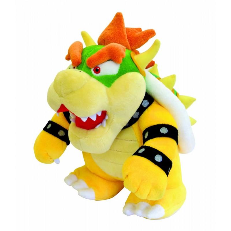 Boneco de Pelúcia Super Mario Chefão Bowser Nintendo