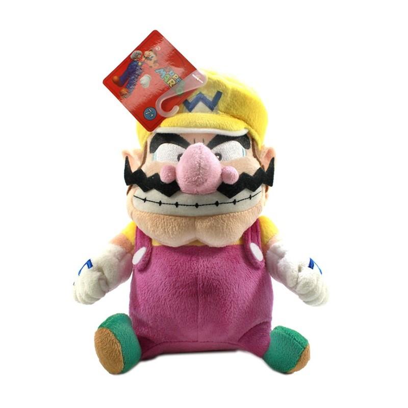 Boneco de Pelúcia Super Mario Wario Nintendo