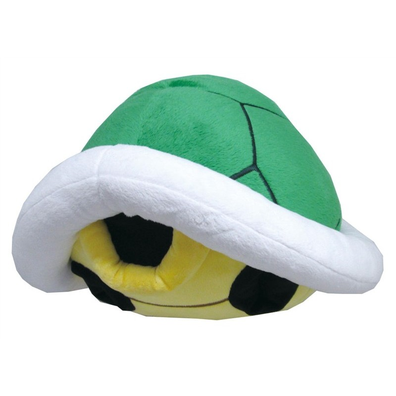 Boneco de Pelúcia Super Mario Casco de Tartaruga Koopa Troopa Nintendo