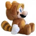 Boneco de Pelúcia Tanooki Super Mário Nintendo