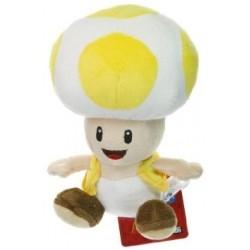 Boneco de Pelúcia Toad Amarelo Super Mário Nintendo