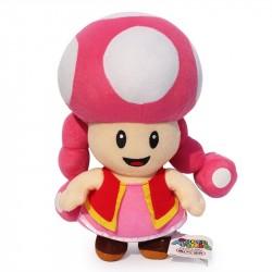 Boneco de Pelúcia Toadette Personagem Super Mário Nintendo