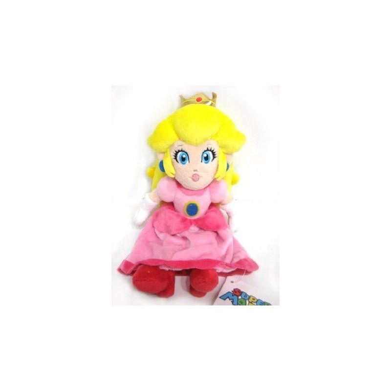 Boneco de Pelúcia Princesa Peach Personagem Super Mário Nintendo
