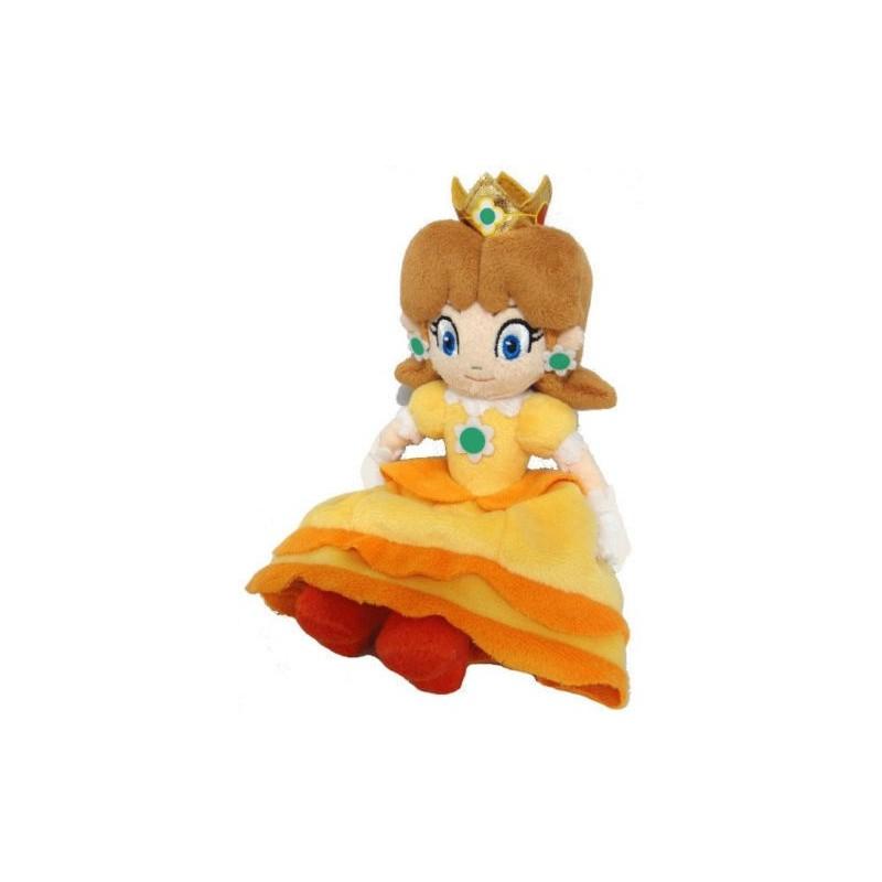 Boneco de Pelúcia Princesa Daisy Personagem Super Mário Nintendo