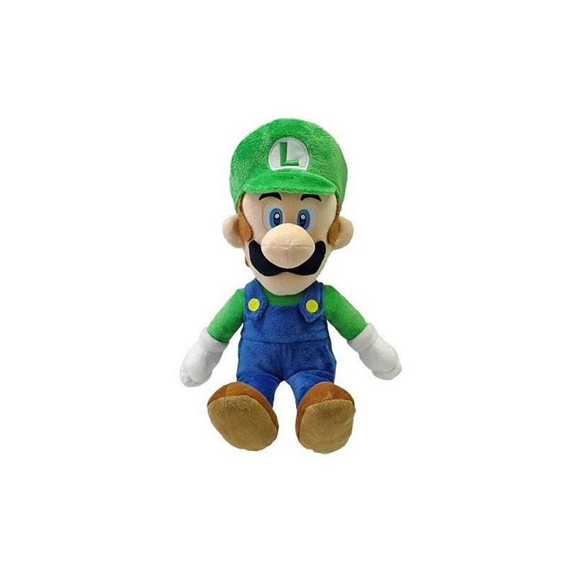 Boneco de Pelúcia Luigi Personagem Super Mário Nintendo