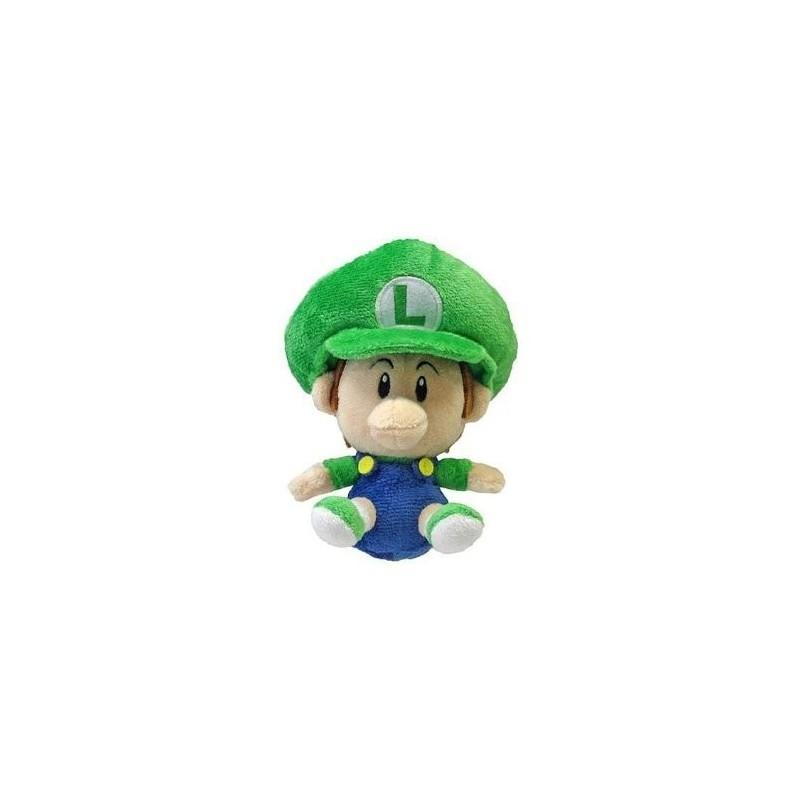 Boneco de Pelúcia Babi Luigi Personagem Super Mário Nintendo
