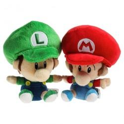 Boneco de Pelúcia Babi Luigi & Mario Personagens Super Mário Nintendo