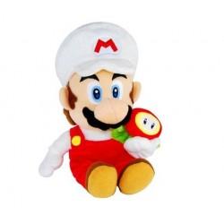 Boneco de Pelúcia Mário Fogo Personagens Super Mário Nintendo