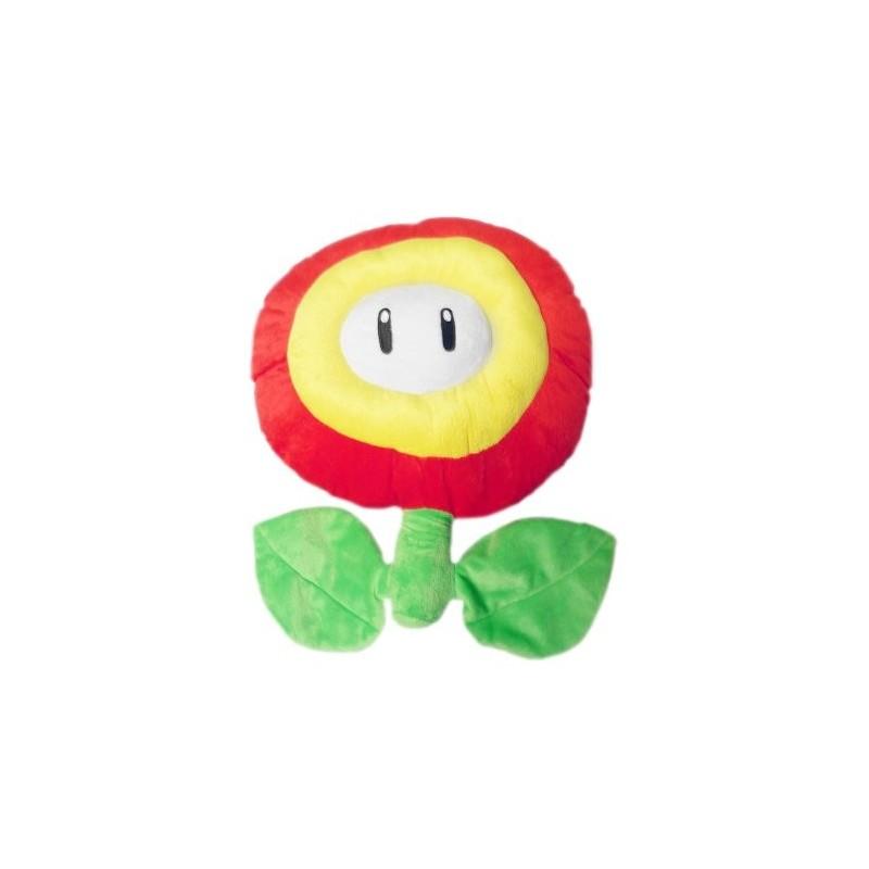 Boneco de Pelúcia Florzinha de Fogo Personagens Super Mário Nintendo