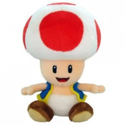 Boneco de Pelúcia Toad Clássico Personagens Super Mário Nintendo