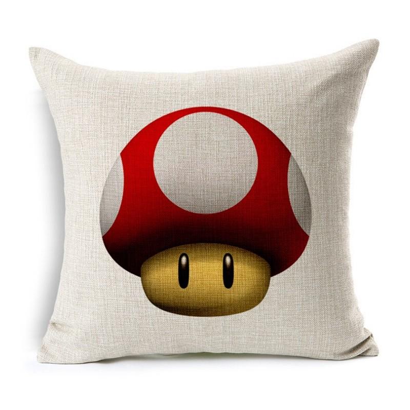 Almofada Decorativa Cogumelo Super Mário