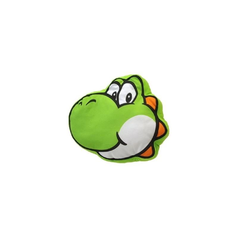 Almofada Decorativa Yoshi Verde Super Mário