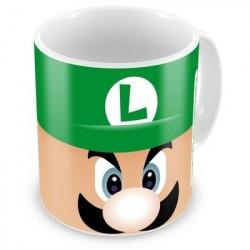 Caneca de Café Personagem Luigi Super Mário Verde