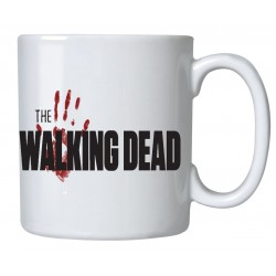 Caneca de Café Porcelana The Walking Dead Branca