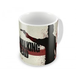 Caneca de Café Porcelana The Walking Dead