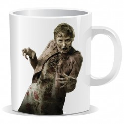 Caneca de Café Porcelana Zumbi The Walking Dead
