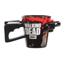 Caneca de Café Porcelana Revólver The Walking Dead