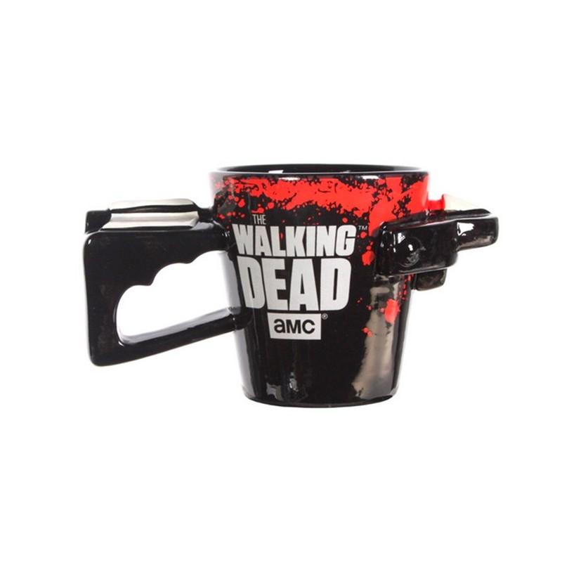 Caneca de Café Porcelana Revólver The Walking Dead