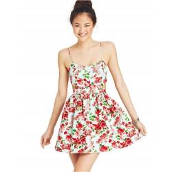 Vestido Estampado Floral Curto Importado